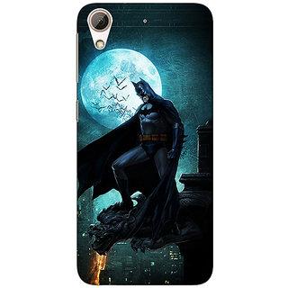Absinthe Superheroes Batman Dark knight Back Cover Case For HTC Desire 728 Dual Sim