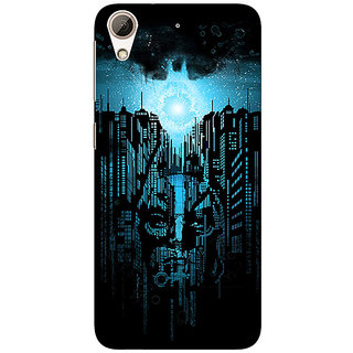 Absinthe Superheroes Batman Dark knight Back Cover Case For HTC Desire 728 Dual Sim