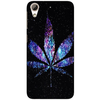 Absinthe Weed Marijuana Back Cover Case For HTC Desire 728 Dual Sim