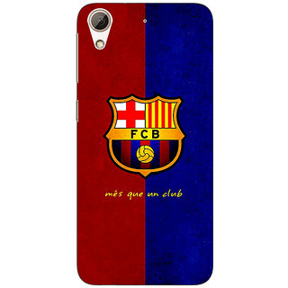 Absinthe Barcelona Back Cover Case For HTC Desire 728 Dual Sim