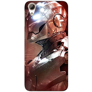 Absinthe Superheroes Ironman Back Cover Case For HTC Desire 728 Dual Sim