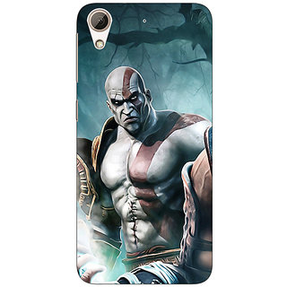 Absinthe God of War Back Cover Case For HTC Desire 728 Dual Sim