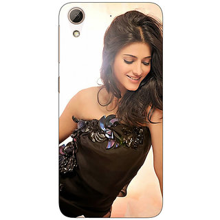 Absinthe Bollywood Superstar Shruti Hassan Back Cover Case For HTC Desire 728G Dual Sim