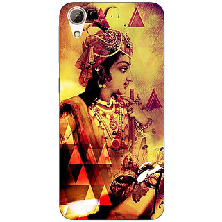 Absinthe Lord Krishna Back Cover Case For HTC Desire 728G Dual Sim