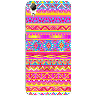 Absinthe Aztec Girly Tribal Back Cover Case For HTC Desire 728 Dual Sim