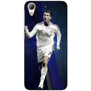 Absinthe Cristiano Ronaldo Real Madrid Back Cover Case For HTC Desire 728 Dual Sim