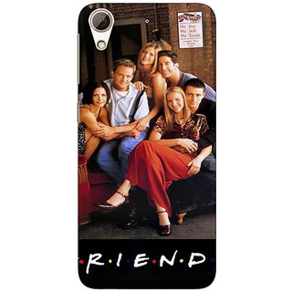 Absinthe TV Series FRIENDS Back Cover Case For HTC Desire 728 Dual Sim