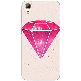 Absinthe Diamond Back Cover Case For HTC Desire 728 Dual Sim
