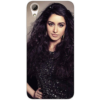 Absinthe Bollywood Superstar Shraddha Kapoor Back Cover Case For HTC Desire 728 Dual Sim