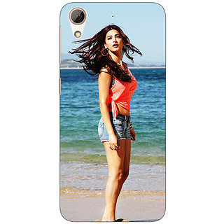 Absinthe Bollywood Superstar Shruti Hassan Back Cover Case For HTC Desire 728 Dual Sim