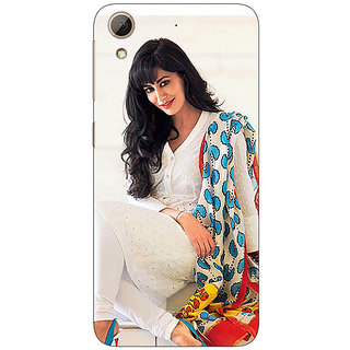 Absinthe Bollywood Superstar Yami Gautam Back Cover Case For HTC Desire 728 Dual Sim