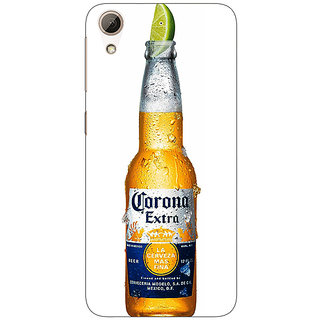 Absinthe Corona Beer Back Cover Case For HTC Desire 728 Dual Sim