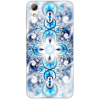 Absinthe Abstract Design Pattern Back Cover Case For HTC Desire 728 Dual Sim