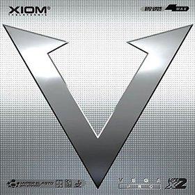 Xiom Vega Pro - Table Tennis Rubber - Red (max)