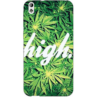 Absinthe Weed Marijuana Back Cover Case For HTC Desire 816G