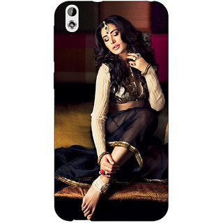 Absinthe Bollywood Superstar Nargis Fakhri Back Cover Case For HTC Desire 816G