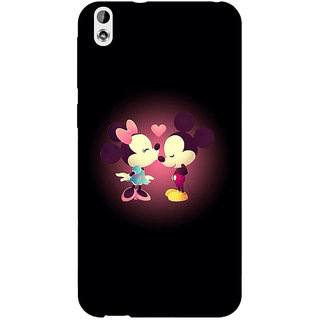 Absinthe Mickey Minnie Mouse Back Cover Case For HTC Desire 816 Dual Sim