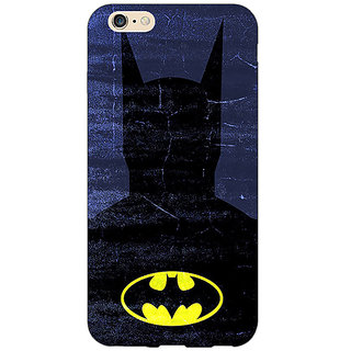 Absinthe Superheroes Batman Dark knight Back Cover Case For Apple iPhone 6S