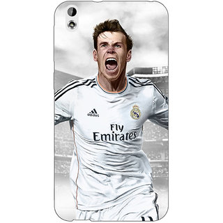 Absinthe Real Madrid Bale Back Cover Case For HTC Desire 816G