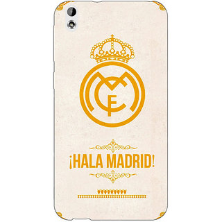 Absinthe Real Madrid Back Cover Case For HTC Desire 816G