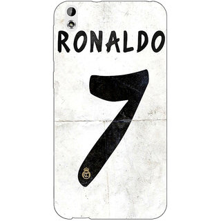 Absinthe Real Madrid Ronaldo Back Cover Case For HTC Desire 816G