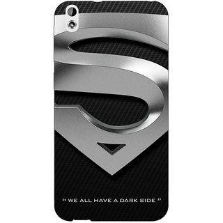 Absinthe Superheroes Superman Logo  Back Cover Case For HTC Desire 816G