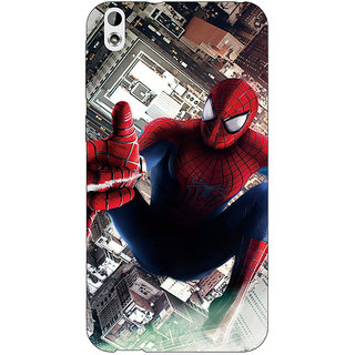 Absinthe Superheroes Spiderman Back Cover Case For HTC Desire 816G