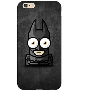 Absinthe Big Eyed Superheroes Batman Back Cover Case For Apple iPhone 6S