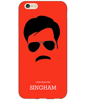 Absinthe Bollywood Superstar Singham Back Cover Case For Apple iPhone 6S