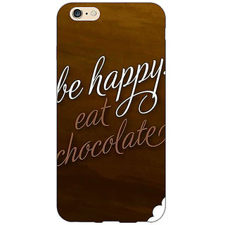 Absinthe Chocolate Quote Back Cover Case For Apple iPhone 6S