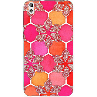 Absinthe Hot Winter Pattern Back Cover Case For HTC Desire 816G