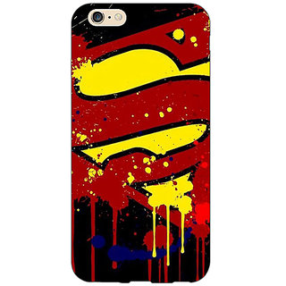 Absinthe Superheroes Superman Back Cover Case For Apple iPhone 6S Plus
