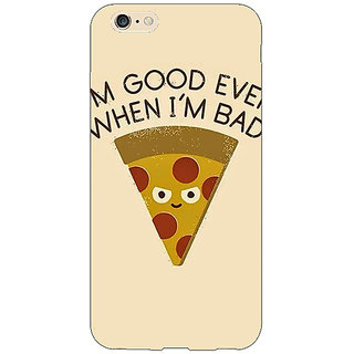 Absinthe Pizza Quote Back Cover Case For Apple iPhone 6S