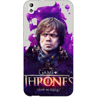 Absinthe Game Of Thrones GOT House Lannister Tyrion Back Cover Case For HTC Desire 816G