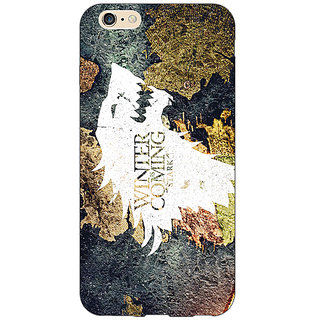 Absinthe Game Of Thrones GOT House Stark  Back Cover Case For Apple iPhone 6S Plus