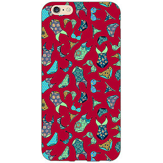 Absinthe Inners Pattern Back Cover Case For Apple iPhone 6S