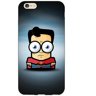 Absinthe Big Eyed Superheroes Superman Back Cover Case For Apple iPhone 6S Plus