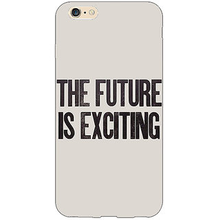 Absinthe Future Quote Back Cover Case For Apple iPhone 6S