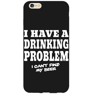 Absinthe Beer Quote Back Cover Case For Apple iPhone 6S