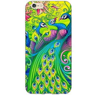 Absinthe Paisley Beautiful Peacock Back Cover Case For Apple iPhone 6S