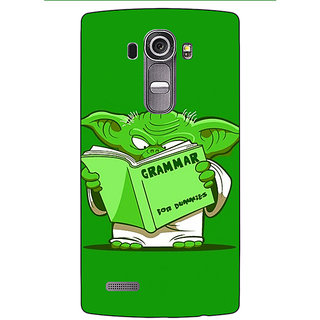 Absinthe Grammar Yoda Back Cover Case For LG G4