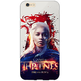 Absinthe Game Of Thrones GOT Khaleesi Daenerys Targaryen Back Cover Case For Apple iPhone 6S Plus