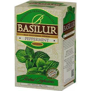 BASILUR - HERBAL INFUSION - TEA BAG - PEPPERMINT (NEW SHAPE)
