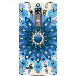 Absinthe Dream Flower Pattern Back Cover Case For LG G4
