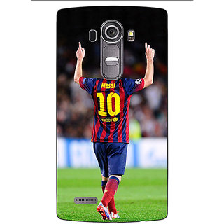 Absinthe Barcelona Messi Back Cover Case For LG G4