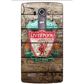 Absinthe Liverpool Back Cover Case For LG G4
