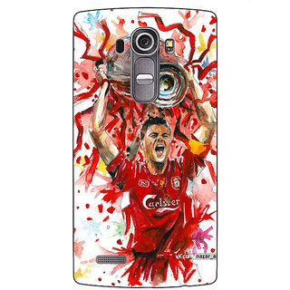 Absinthe Liverpool Gerrard Back Cover Case For LG G4