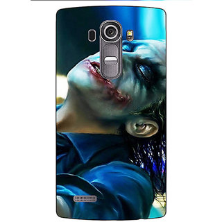 Absinthe Superheroes Villain Joker Back Cover Case For LG G4