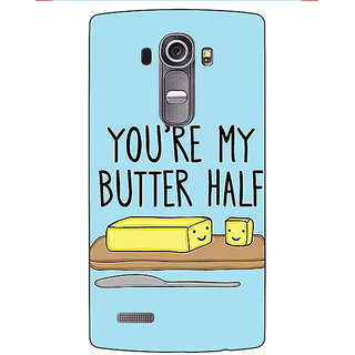 Absinthe Quotes Better half Back Cover Case For LG G4