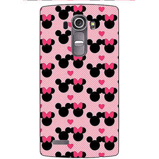 Absinthe Mickey Minnie Mouse Back Cover Case For LG G4